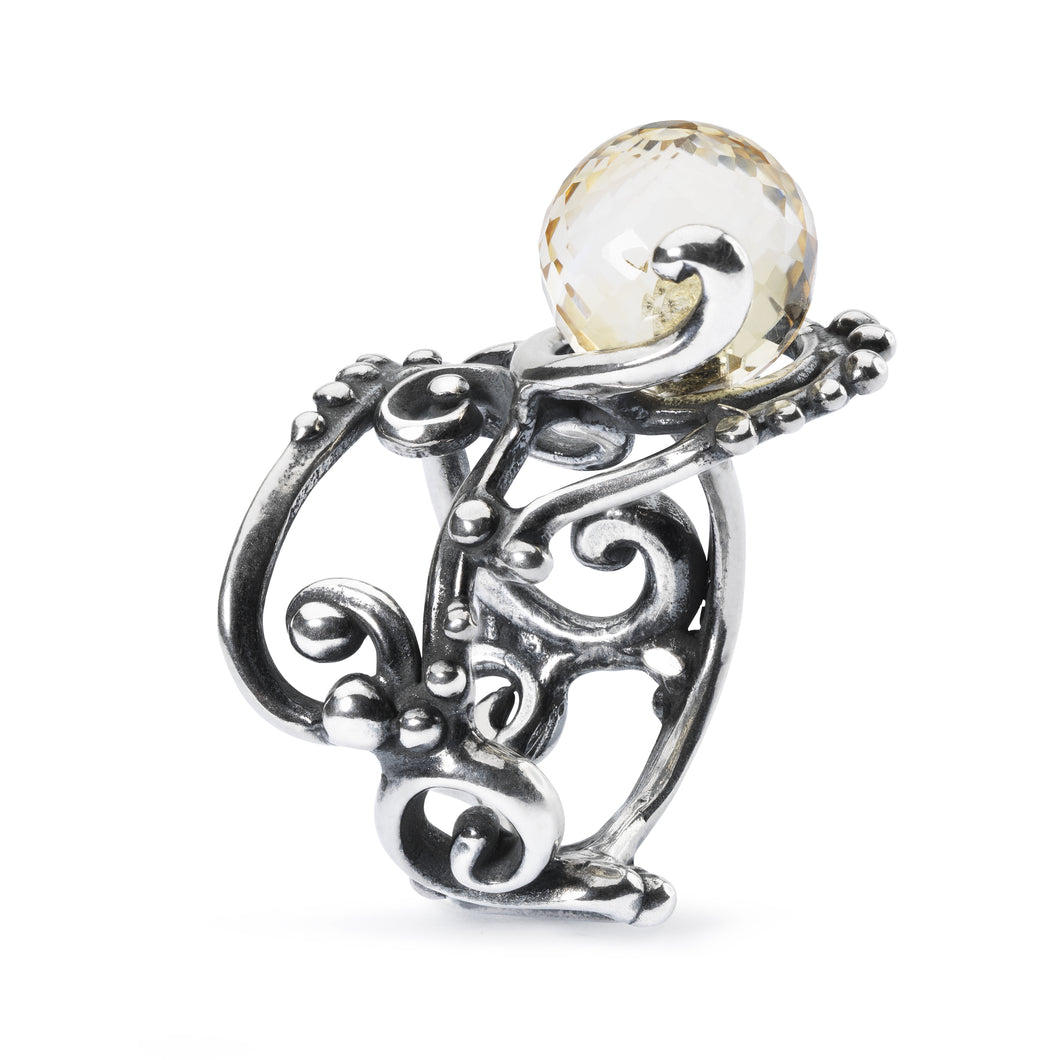 Trollbeads Facet Citrine Ring