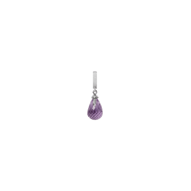 Christina Collect Silver Amethyst Drop