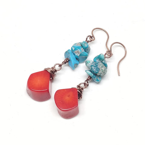 Red Tide Earrings