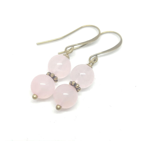 Rose Quartz Mini Dangles