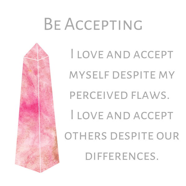 Be Accepting--Long Necklace