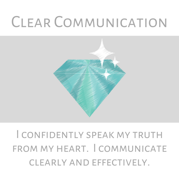 Clear Communication--Long Necklace