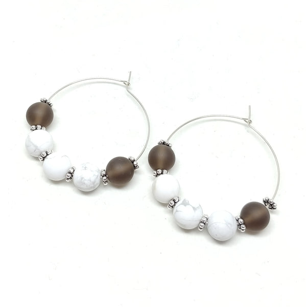 Continual Growth--Hoop Earrings