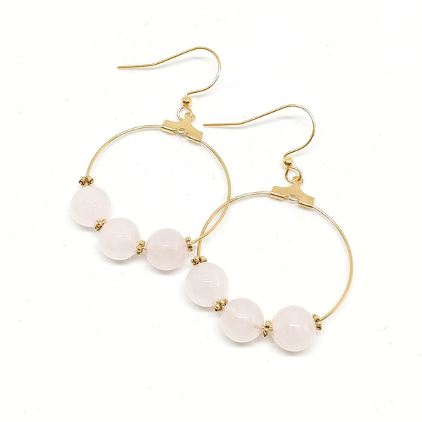 Loving Heart--Hoop Earrings 1