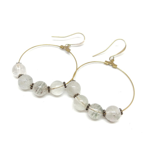 Make a Difference--Hoop Earrings