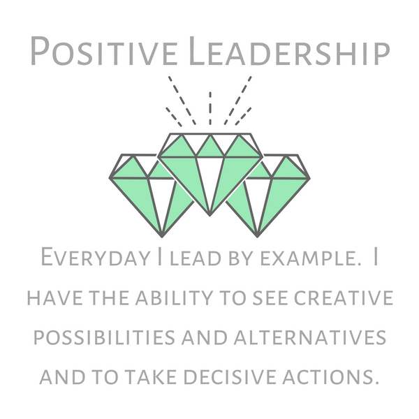 Positive Leadership--Long Necklace