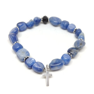 Kyanite & Cross
