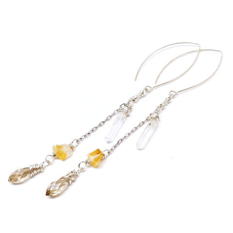 Goddess Crystal Earrings