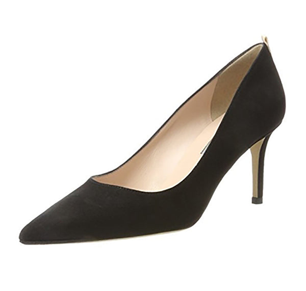 SJP FAWN 70 Black Suede