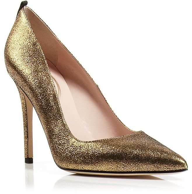 SJP FAWN 100 Gold Metallic