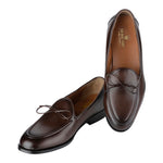 TELLANO CLASSIC BROWN LACED LOAFERS