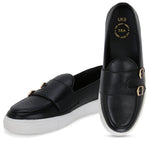 MADISON BLACK DOUBLE MONK CLASSIC SNEAKER