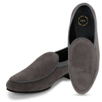 BOSTON GREY SUEDE CLASSIC LOAFER