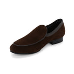 BOSTON BROWN SUEDE CLASSIC LOAFER