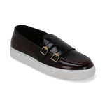 MADISON PATENT CHERRY BRUSH OFF DOUBLE MONK CLASSIC SNEAKER