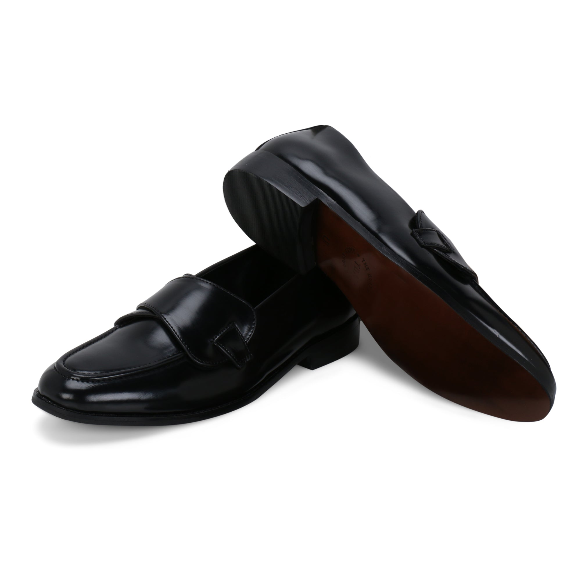 COLUMBUS BLACK BUTTERFLY LOAFER