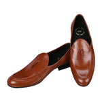 NERO TAN TASSEL LOAFERS