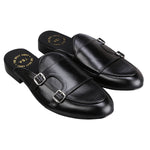 ALSACE DOUBLE MONK BLACK MULES