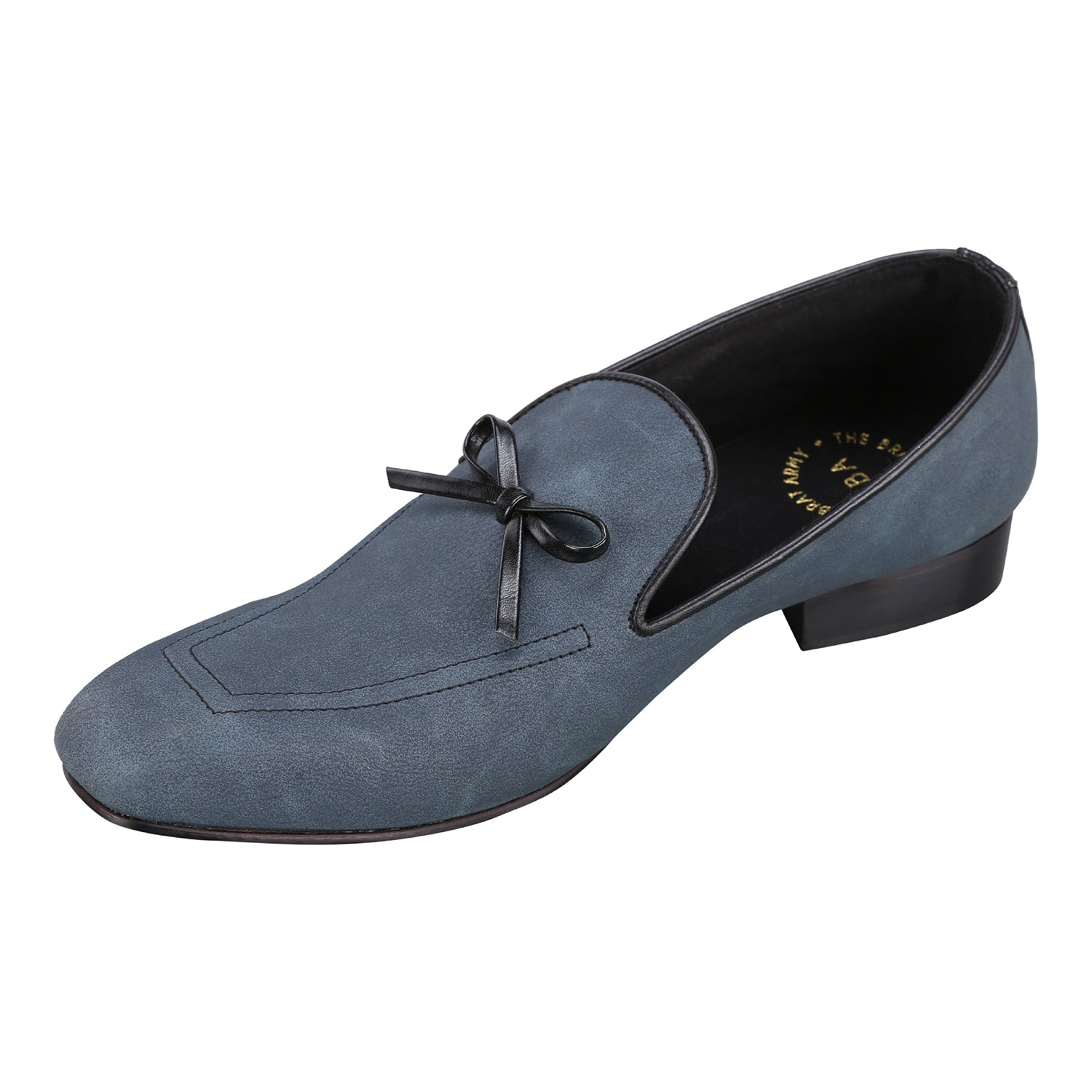 SAN LEO BLUE FLEXI LOAFERS