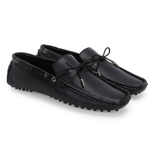 AZA BLACK DRIVING LOAFERS