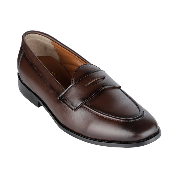 a846b6e5203 SIENA TIMELESS BROWN CLASSIC PENNY LOAFERS – THE BRAT ARMY