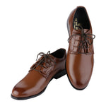 DORSET TAN DERBY SHOES