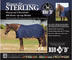 Big D - Sterling Winter Turnout - Western Cut