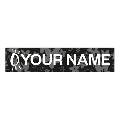 Halo Monochrome Personalised Name Patch