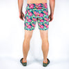 "Halo Men's 9"" Yellow Lotus Shorts"