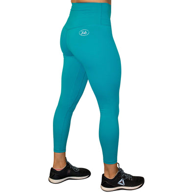 Halo Aquamarine 7/8 Squat Stretch Leggings