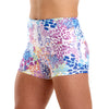 Halo Summer Safari High Rise Roll Down Booty Shorts