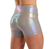 "Halo Mermaid Shimmer 3.5"" Booty Shorts"