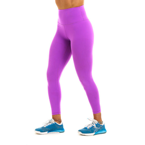 Halo Magenta 7/8 Squat Stretch Leggings
