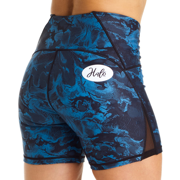 "Halo Winter Wave High Rise 6"" Shorts"