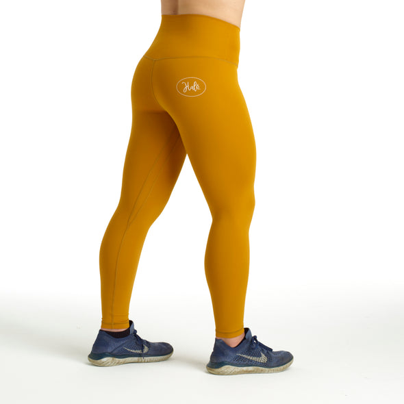 Halo Mustard Lightning 7/8 Leggings