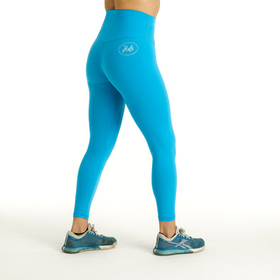 Halo Moonstone Blue 7/8 Squat Stretch Leggings