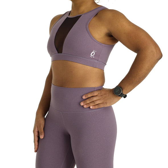 Halo Eclipse Sports Bra in Lilac Drop
