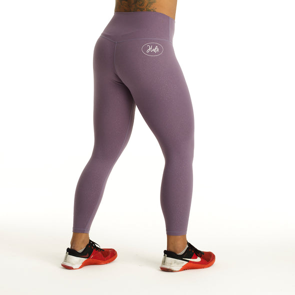 Halo 7/8 Squat Stretch Lilac Drop Leggings