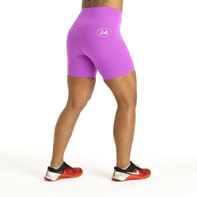 "Halo Flex 6"" Shorts in Magenta"