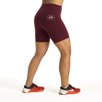 "Halo Flex 6"" Shorts in Dark Purple"