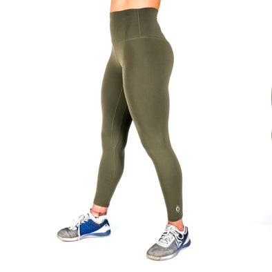 Halo Olive 7/8 Squat Stretch Leggings