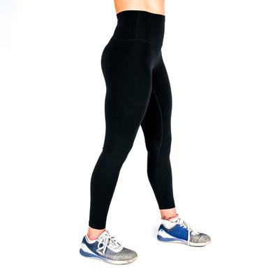 Halo Black 7/8 Squat Stretch Leggings