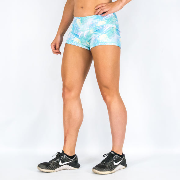Halo Jungle Mania Low Rise Rise Booty Shorts