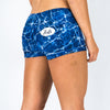 Halo Metamorphic Marble Low Rise Booty Shorts