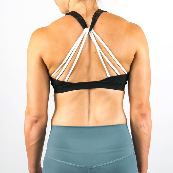 Halo Logo Sports Bra