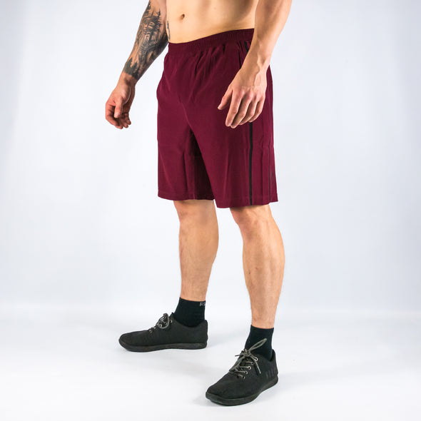"Halo Claret Men's 9"" Shorts"