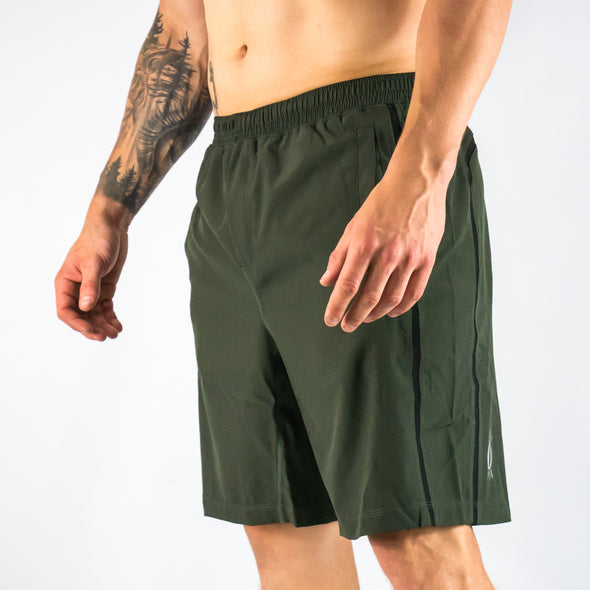 "Halo Olive Men's 9"" Shorts"