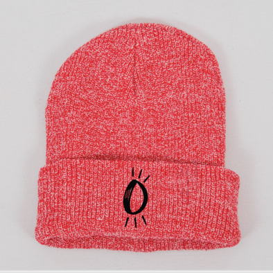 Built Up North x Halo Icon Heather Red Beanie