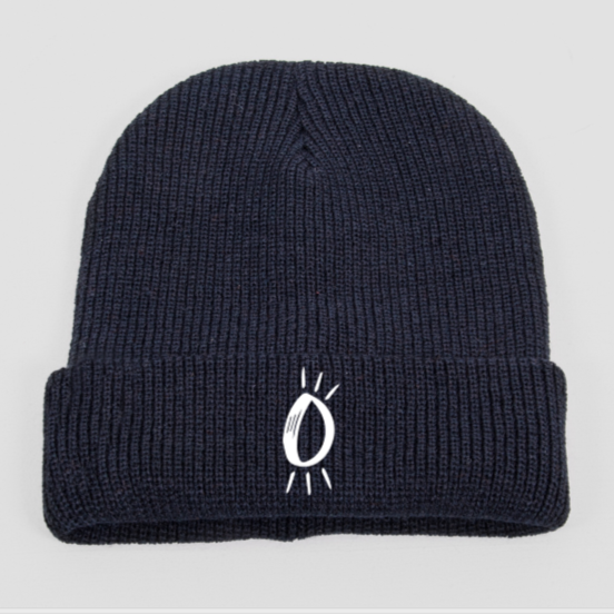 Built Up North x Halo Icon Black Beanie