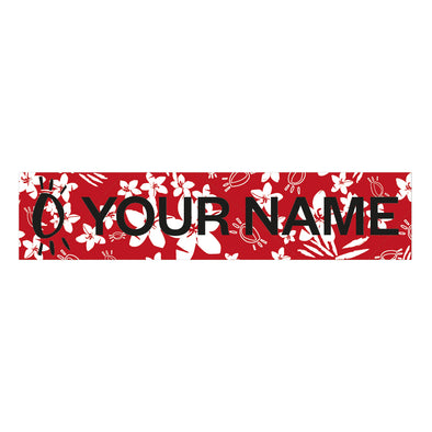 Halo Red Personalised Name Patch